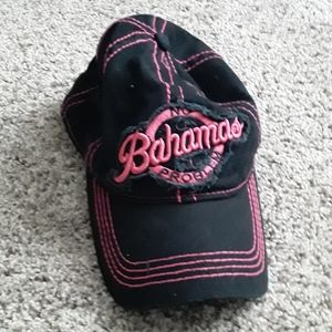 Bahamas Black & Hot Pink No Problem Baseball Hat
